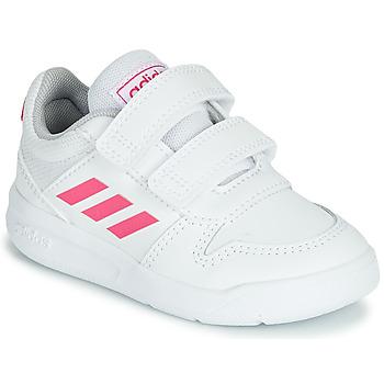 鞋子 女孩 球鞋基本款 adidas Performance 阿迪达斯运动训练 VECTOR I 白色 / 玫瑰色