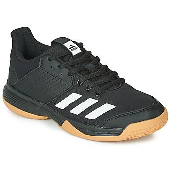 鞋子 儿童 球鞋基本款 adidas Performance 阿迪达斯运动训练 LIGRA 6 YOUTH 黑色