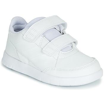鞋子 儿童 球鞋基本款 adidas Performance 阿迪达斯运动训练 ALTASPORT CF I 白色