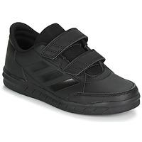 鞋子 儿童 球鞋基本款 adidas Performance 阿迪达斯运动训练 ALTASPORT CF K 黑色