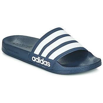 鞋子 拖鞋 adidas Performance 阿迪達斯運動訓練 ADILETTE SHOWER 海藍色