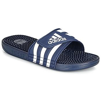 鞋子 拖鞋 adidas Performance 阿迪達斯運動訓練 ADISSAGE 海藍色