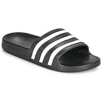 鞋子 拖鞋 adidas Performance 阿迪達斯運動訓練 ADILETTE AQUA 黑色 / 白色