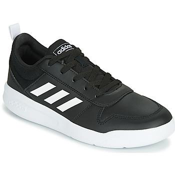 鞋子 儿童 球鞋基本款 adidas Performance 阿迪达斯运动训练 VECTOR K 黑色 / 白色