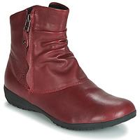 鞋子 女士 短筒靴 Josef Seibel NALY 24  胭脂紅