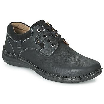 鞋子 男士 德比 Josef Seibel ANVERS 36 黑色