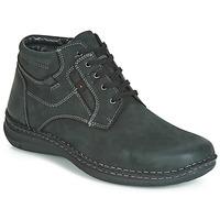 鞋子 男士 短筒靴 Josef Seibel ANVERS 35 黑色