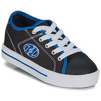 鞋子 男孩 轮滑鞋 Heelys CLASSIC X2 黑色 / 白色 / 蓝色
