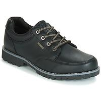 鞋子 男士 球鞋基本款 Kappa 卡帕 NAGOA 黑色