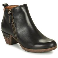 鞋子 女士 短靴 Pikolinos 派高雁 ROTTERDAM 902 黑色