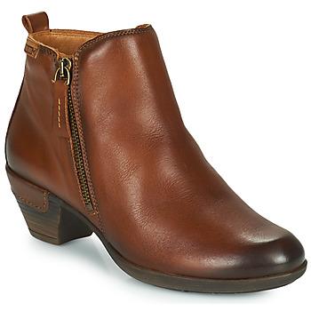鞋子 女士 短靴 Pikolinos 派高雁 ROTTERDAM 902 棕色
