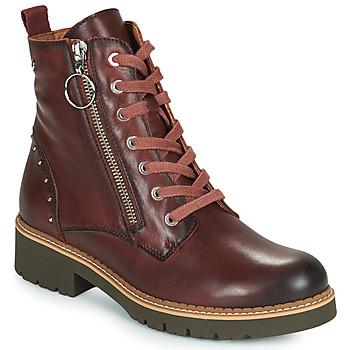 鞋子 女士 短筒靴 Pikolinos 派高雁 VICAR W0V 棕色