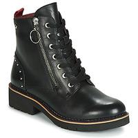 鞋子 女士 短筒靴 Pikolinos 派高雁 VICAR W0V 黑色