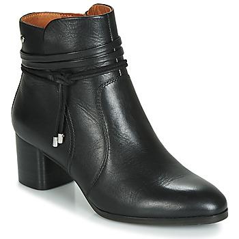 鞋子 女士 短靴 Pikolinos 派高雁 CALAFAT W1Z 黑色