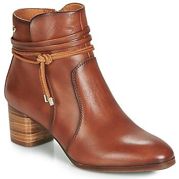 鞋子 女士 短靴 Pikolinos 派高雁 CALAFAT W1Z 棕色