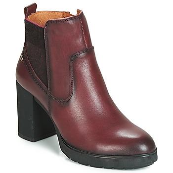 鞋子 女士 短靴 Pikolinos 派高雁 SAGUNTO W4Z 棕色