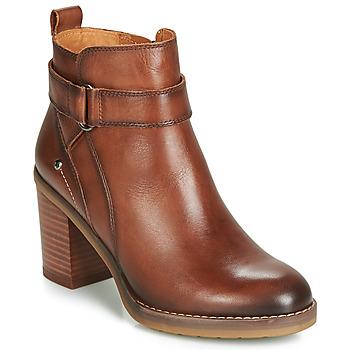 鞋子 女士 短靴 Pikolinos 派高雁 POMPEYA W9T 棕色
