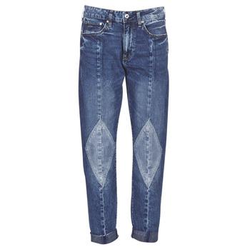 衣服 女士 女士Boyfriend牛仔裤 G-Star Raw 3301-L MID BOYFRIEND DIAMOND 蓝色 / Ight / 复古