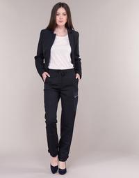 衣服 女士 工装裤 G-Star Raw FELDSPAR HIGH STRAIGHT CARGO 海蓝色