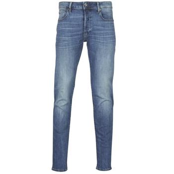 衣服 男士 紧身牛仔裤 G-Star Raw 3301 SLIM 蓝色 / 复古 / Edium