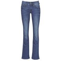 衣服 女士 喇叭牛仔裤 G-Star Raw MIDGE MID BOOTCUT WMN 蓝色 / Faded / 蓝色