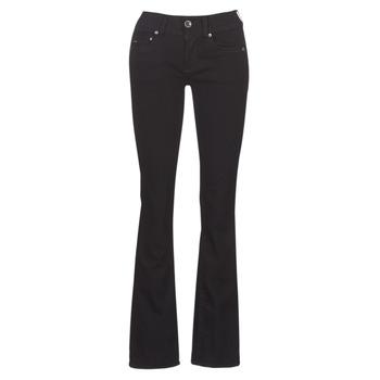 衣服 女士 喇叭牛仔裤 G-Star Raw MIDGE MID BOOTCUT WMN 黑色