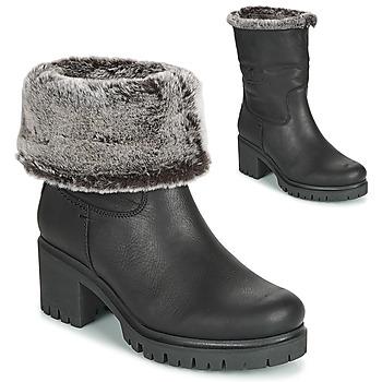 鞋子 女士 短靴 Panama Jack 巴拿马 杰克 PIOLA 黑色