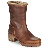 鞋子 女士 短靴 Panama Jack 巴拿马 杰克 PIOLA 棕色