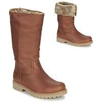 鞋子 女士 短筒靴 Panama Jack 巴拿马 杰克 BAMBINA 棕色