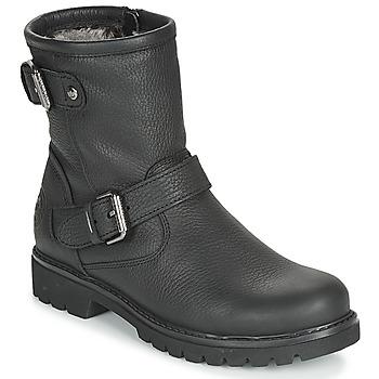 鞋子 女士 短筒靴 Panama Jack 巴拿马 杰克 FELINA 黑色