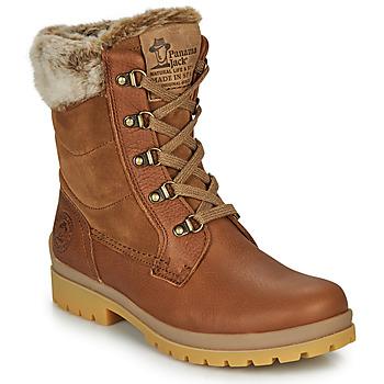 鞋子 女士 短筒靴 Panama Jack 巴拿马 杰克 TUSCANI 棕色