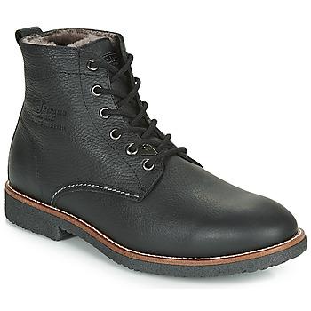 鞋子 男士 短筒靴 Panama Jack 巴拿馬 杰克 GLASGOW 黑色