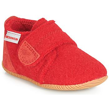 鞋子 儿童 拖鞋 Giesswein OBERSTAUFFEN 红色