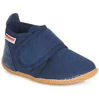 鞋子 男孩 拖鞋 Giesswein STRASS SLIM FIT 海蓝色