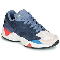 鞋子 球鞋基本款 Reebok Classic AZTREK 96 灰色 / 蓝色