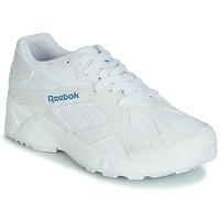 鞋子 女士 球鞋基本款 Reebok Classic AZTREK 白色 / 蓝色
