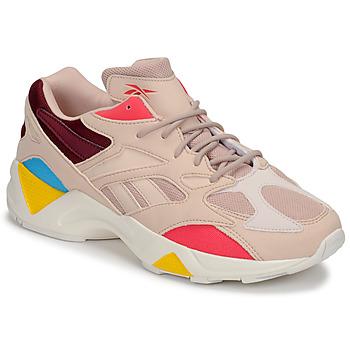 鞋子 女士 球鞋基本款 Reebok Classic AZTREK 96 裸色