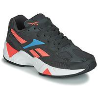 鞋子 女士 球鞋基本款 Reebok Classic AZTREK 96 黑色 / 珊瑚色