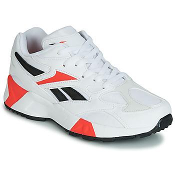 鞋子 男孩 球鞋基本款 Reebok Classic AZTREK 96 J 白色