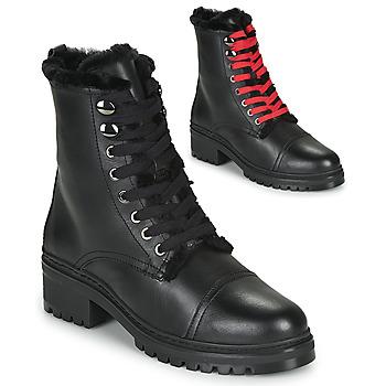 鞋子 女士 短筒靴 Unisa IRACHE 黑色