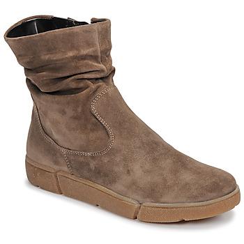 鞋子 女士 短筒靴 Ara 14437-69 灰褐色