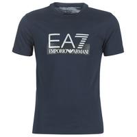 衣服 男士 短袖体恤 EA7 EMPORIO ARMANI GPT81-PJM9Z-1554 海蓝色