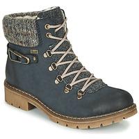 鞋子 女士 短筒靴 Rieker 瑞克爾 Y9131-16 藍色