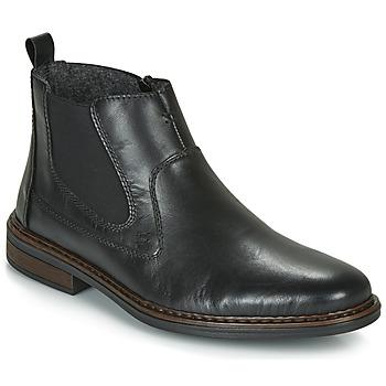 鞋子 男士 短筒靴 Rieker 瑞克爾 DANE 黑色