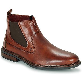 鞋子 男士 短筒靴 Rieker 瑞克爾 DANE 棕色