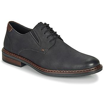 鞋子 男士 德比 Rieker 瑞克爾 17600-03 黑色