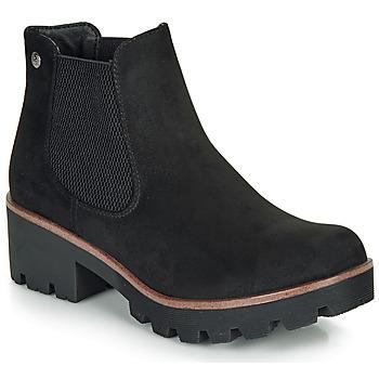 鞋子 女士 短靴 Rieker 瑞克尔 99284-02 黑色