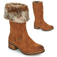 鞋子 女士 都市靴 Rieker 瑞克尔 96854-26 驼色