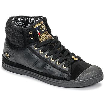 鞋子 女士 高帮鞋 Le Temps des Cerises BASIC 03 黑色