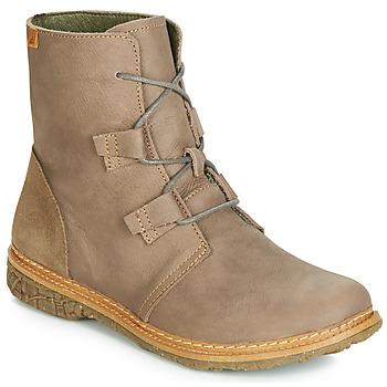鞋子 女士 短筒靴 El Naturalista ANGKOR 灰色